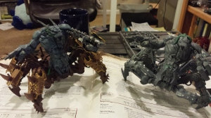 Brothers United! Not in being painted, natch, but united in other stuff!