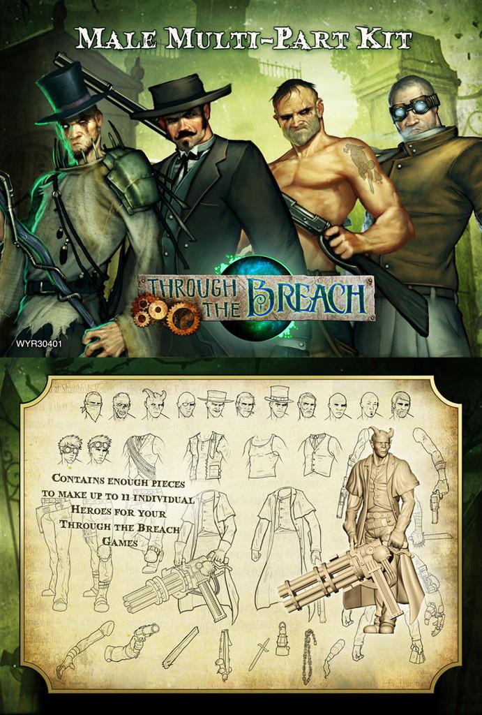 Multipart Breach Male